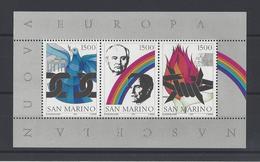 SAINT-MARIN  YT  Bloc  N° 17  Neuf **  1991 - Blocs-feuillets