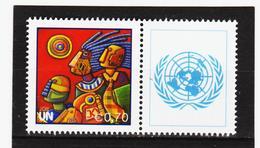 LKA140 UNO WIEN 2011 GRUSSMARKE MICHL 724 GRUSSMARKE ** Postfrisch Siehe ABBILBUNG - Wien - Internationales Zentrum
