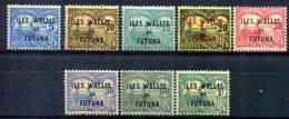 Wallis Et Futuna     Taxes      1/8  * - Timbres-taxe