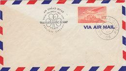 IRELAND 1958 Transatlantic Flight DUBLIN - NEW YORK.BARGAIN.!! - Ierland
