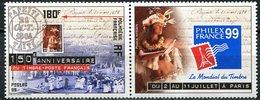 Polynésie, N° 602** Y Et T (avec Vignette) - Polynésie Française