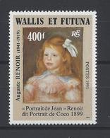 WALLIS ET FUTUNA  YT  N° 411  Neuf **  1991 - Wallis-Et-Futuna