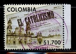 Colombie - Kolumbien - Colombia 2011 Y&T N°1634 - Michel N°2681 (o) - 1700p El Catolicismo - Colombie