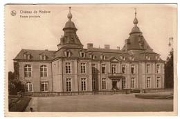 Château De Modave - Façade Principale - Ciruclée En 1957 -  2 Scans - Modave