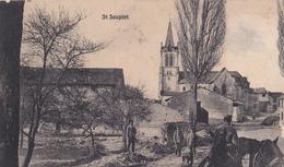 SAINT SOUPLET, Carte Allemands Avec Militaires - Gde Guerre 1914/1915 - A Voir - France