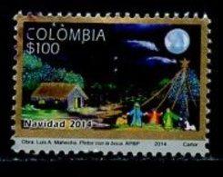 Colombie - Kolumbien - Colombia 2014 Y&T N°(1) - Michel N°(?) (o) - 100p Navidad 2014 - Colombie