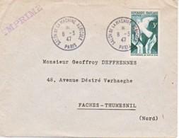 FRANCE : 1947 - Salon De La Machine Agricole - Imprimé - Conférence De Paris - France