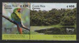 Costa Rica (2017) - Set - / UPAEP - Bird - Oiseaux - Parrot - Emissions Communes