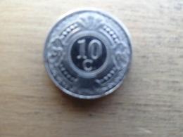 Antilles  Neerlandaises    10  Cents  2008  Km 34 - Antilles Neérlandaises
