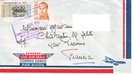 VENEZUELA : 1978 - Lettre Par Avion Pour La France - Venezuela