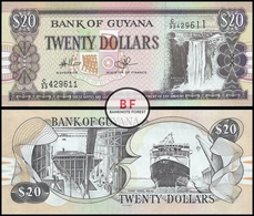 Guyana   20 Dollars   2009   P.30e.1   UNC - Guyana