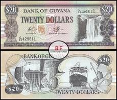 Guyana | 20 Dollars | 2009 | P.30e.1 | UNC - Guyana