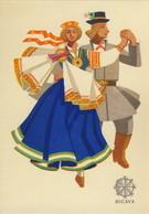 Folk Costumes - Lettonie