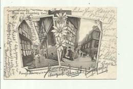 Gruss Aus Langenberg   - Stempel 1905 ( 2 Scans) - Duitsland