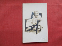 RPPC Studio Photo Wheeler Green NY  Named On Back 6 Months Old Ref 3236 - Portraits