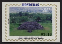 Honduras, Sheet Archaeological Park, The Bridge, 1995 Scott C956 MNH VF - Honduras