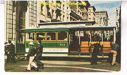 SAN  FRANCISCO  CABLE  CAR  TURNTABLE    US355 - San Francisco