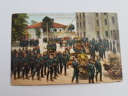 40401  -    Turquie  - Constantinople  Pompiers Taxim  -  Couleur - Turquie