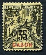 Colonie Française, Gabon N°25 ; Faux Fournier Oblitéré - Gabon (1886-1936)