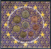 FRANCE COFFRET EURO BU 2002 SOUS BLISTER - France