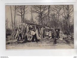 Forêt De L'ISLE ADAM - Une Famille De Bûcherons - état - L'Isle Adam