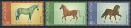 Moldova, 2002 Horses. Horse, Fauna - MNH - DH-13 - Pferde