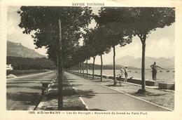 AIX LES BAINS LAC DU BOURGET BOULEVARD DU GRAND OU PETIT PONT - Aix Les Bains