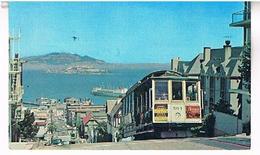 SAN  FRANCISCO  CABLE  CAR HYDE  STREET    TBE US357 - San Francisco