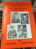 MALAYSIA Malaya Royal King 1855 1940 Sultan Johore Johor History Sejarah Undang - Livres, BD, Revues
