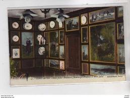 PONT AVEN : Hôtel Julia - Peintures, Hommages D'Auteurs à Mlle Julia - Très Bon état - Pont Aven