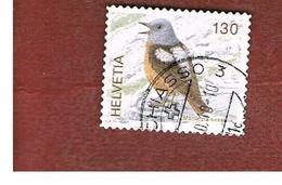 SVIZZERA (SWITZERLAND) -   SG 1674b -    2008    BIRDS : MONTICOLA SAXATILIS - USED - Svizzera