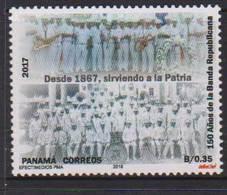 PANAMA, 2018, MNH, MUSIC, 150th ANNIVERSARY OF THE NATIONAL MUSIC BAND, 1v - Music
