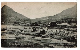 South Africa / On The Rocks - Camp Bay - Circulated 1919 - Publ. Valentine's - 2 Scans - Afrique Du Sud