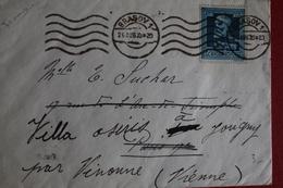 1939      ENVELOPPE         COMPLETE      BRASOV         POUR     LA   FRANCE - 1918-1948 Ferdinand I., Charles II & Michel