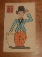 C.P.A. Un Personnage De Cirque. 1920. - Humour