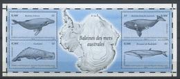 TAAF 2011 - N° F587 - Faune Marine - Baleines Cachalot Rorqual - Neuf -** - Terres Australes Et Antarctiques Françaises (TAAF)