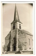 Carte Photo - Borght-Lombeek - Eglise - 2 Scans - Roosdaal