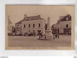 BRULON - Place De La Mairie - Le Monument - Très Bon état - Brulon