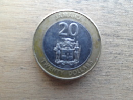 Jamaique  20  Dollars  2006  Km !!! - Jamaique