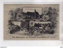 Un Souvenir De SAINT FRIMBAULT - Très Bon état - Autres Communes