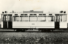 Rotterdam, RETM, Delmez 1924, Real Photo - Treinen