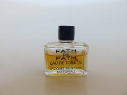 Fath De Fath - Jacques Fath - Miniatures Modernes (à Partir De 1961)