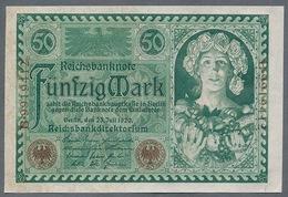 P68 Ro66 50 Mark 23.7.1920 AUNC Pas De Plis!!! - [ 3] 1918-1933: Weimarrepubliek
