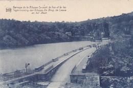 Barrage De La Gileppe, Le Pont, Le Lion Et Le Lac (pk57654) - Gileppe (Stuwdam)