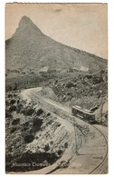 South Africa / Mountain Tramway And Lions Head - Circulated 1919 - Publ. Valentine's - 2 Scans - Afrique Du Sud
