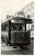 Rotterdam, Tram Beursplein Honingerdijk, Wagenvoerder Wagner, Real Photo - Postkaarten