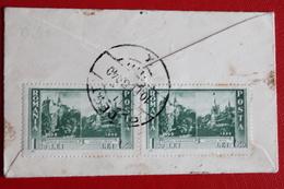 1940      ENVELOPPE      MIGNONETTE    COMPLETE      BUCAREST         POUR     BLOIS     2   PHOTOS - 1918-1948 Ferdinand I., Charles II & Michel