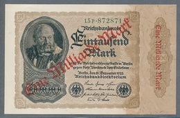 P113 Ro110b DEU-126b 1 Milliard Mark 15.12.1922 UNC NEUF - [ 3] 1918-1933 : Repubblica  Di Weimar