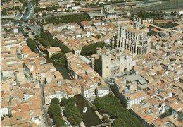 Narbonne - Vue Aérienne , Le Palais Des Archevêques Et La Cathédrale Saint Just - Narbonne