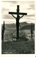 007536  Waidhofen A. D. Ybbs  Gesamtansicht Mit Jesuskreuz  1963 - Waidhofen An Der Ybbs